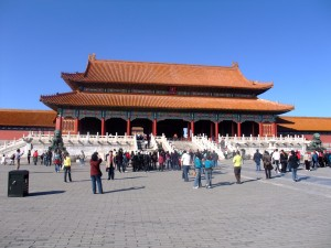 Forbidden city aikštė