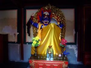 Kažkokio dievo statula